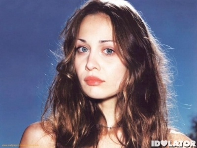 Fiona Apple blue background