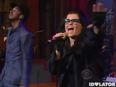 K'Naan Nelly Furtado Is Anybody Out There Late Show David Letterman February 2012