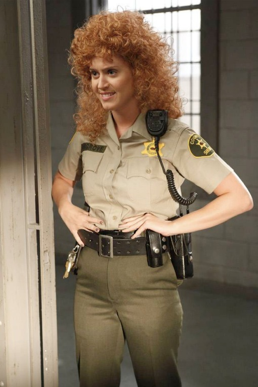 Katy Perry Raising Hope wig 2