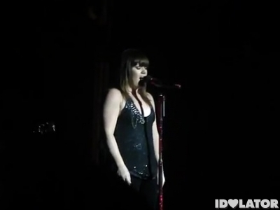 Kelly Clarkson covers Madonna Crazy For You February 2012