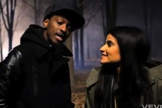 "K'naan & Nelly Furtado's ""Is Anybody Out There"" Video: Sneak Peek"
