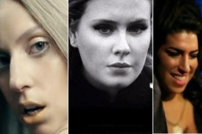 Lady Gaga Adele Amy Winehouse Grammy Awards 2012 Pop categories