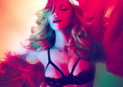 Madonna Girl Gone Wild single cover art crop