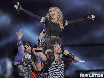 Madonna LMFAO Super Bowl main