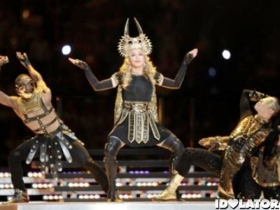 Madonna Super Bowl halftime performance Vogue 2012