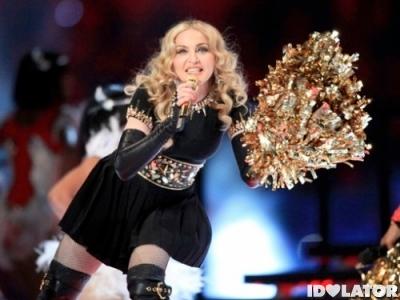 Madonna Super Bowl pom pom