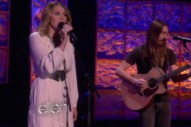 """Miley Cyrus Performs """"You're Gonna Make Me Lonesome When You Go"""" On 'Ellen'"""