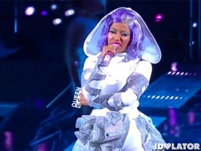 Nicki Minaj 2012 NBA All Star Game