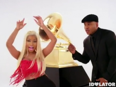 Nicki Minaj LL Cool J Grammy Awards 2012 promo commercial TV