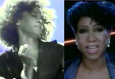 Whitney Houston Aretha Franklin