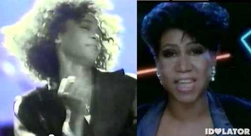 Whitney Houston Aretha Franklin
