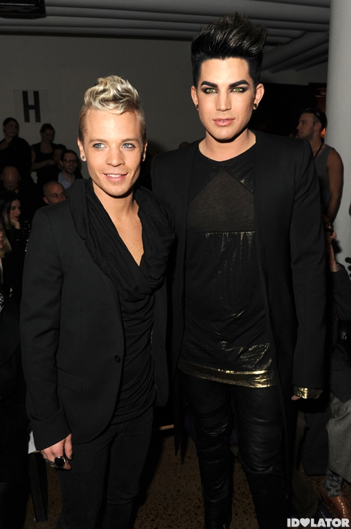 Adam Lambert And Boyfriend Sauli Koskinen Are Front Row At
