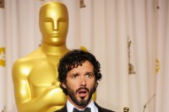 Academy Award Winner Bret McKenzie's Most Adorable Oscar Night Pics (PHOTOS)