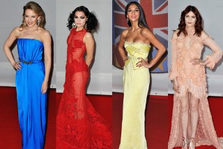 The BRIT Awards 2012: Best To Worst Dressed Pop Stars On The Red Carpet (PHOTOS)