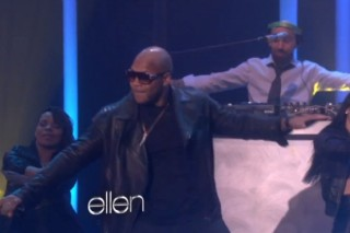 "Flo Rida Has A ""Good Feeling"" On 'Ellen'"