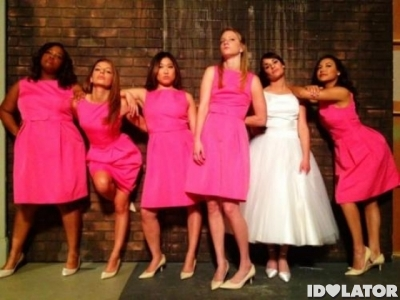 glee bridesmaids