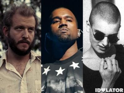 Bon Iver Kanye West Sinead O'Conner Grammys
