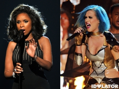 jennifer hudson katy perry grammys 2012
