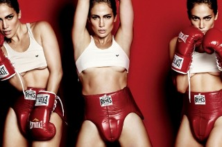 Jennifer Lopez Packs A Serious Punch For 'V' Magazine (P