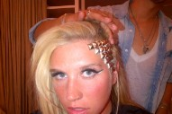 Check Out Ke$ha's Studded Hairstyle: Morning Mix: