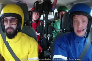 "OK Go Takes Us Behind The Scenes Of Their ""Needing/Getting"" Video"