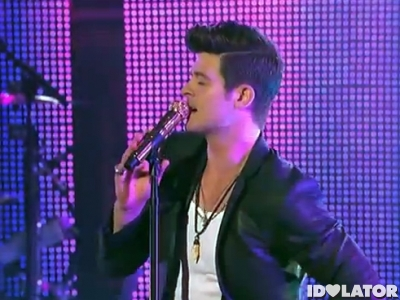 robin thicke jimmy kimmel live