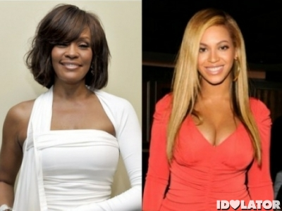 whitney houston beyonce