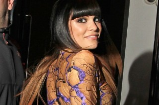 Jessie J Flaunts Her Assets In A Skintight Catsuit (PHOTOS)