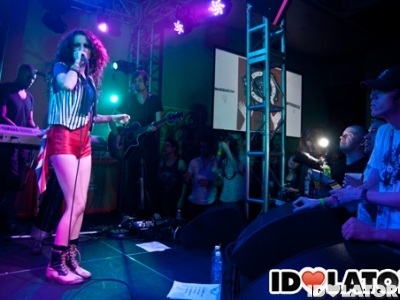 Cher Loyd Idolator Pray For Pop party Austin Texas March 2012