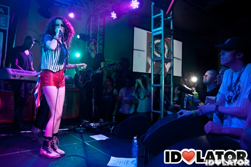 Cher Loyd Idolator Pray For Pop party Austin Texas March 2012