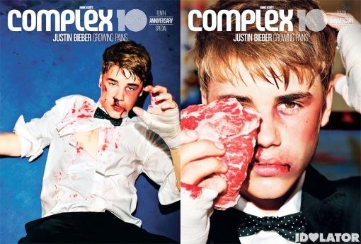 Justin Bieber Complex 10th Anniversary Issue