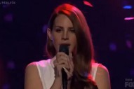 'American Idol': Lana Del Rey Performs And, Oh Yeah, Someone Is Eliminated