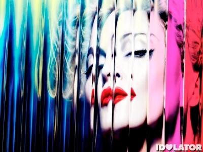Madonna MDNA deluxe album cover
