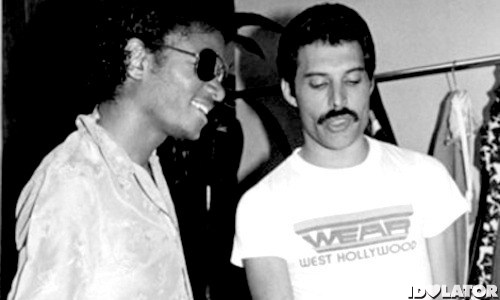 Michael Jackson Freddie Mercury Queen duet