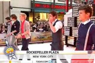 One Direction Head To The 'Today Show'