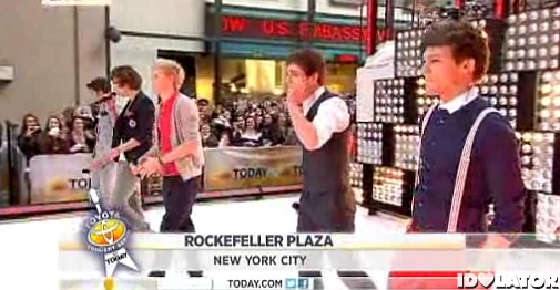 One Direction Today Show March 2012