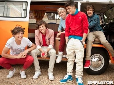 One Direction van