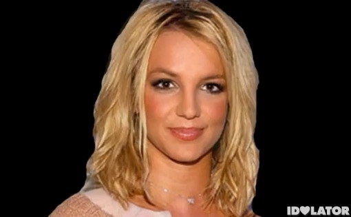 britney spears face morph