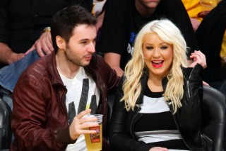 Christina Aguilera Is A Laker Girl In Leather (PHOTOS)