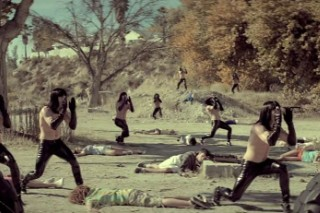 "In Miike Snow's ""The Wave"" Video, The Apocalypse Wears Black Vinyl Pants"