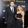 miley cyrus liam hemsworth hunger games