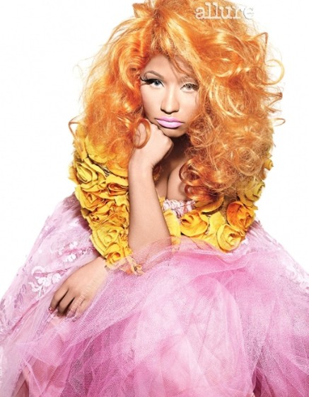 nicki minaj allure magazine april 2012