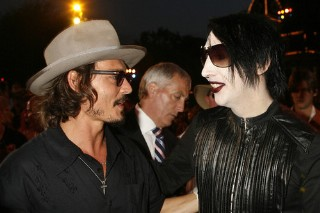 "Johnny Depp And Marilyn Manson To Cover Carly Simon's ""You're So Vain"""