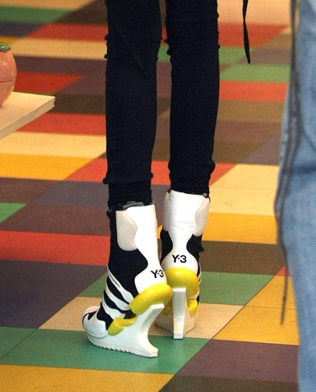 Willow Smith's Y-3 Adidas Heels
