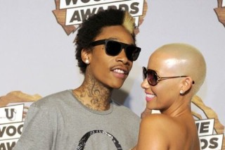 "Wiz Khalifa And Amber Rose Smoke Up ""Never Been (Part II)"""