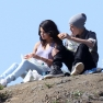 Justin Bieber & Selena Gomez Picnic