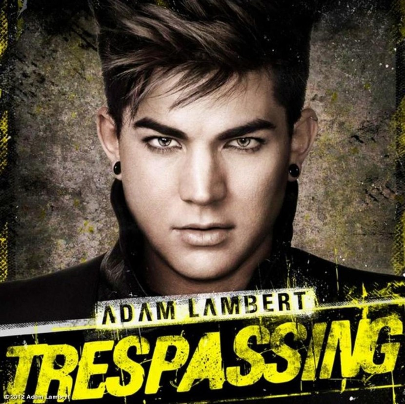 Adam Lambert Trespassing Album Cover Adam Lambert Trespassing Album