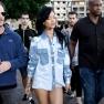 Rihanna Wears Short Shorts In Sydney