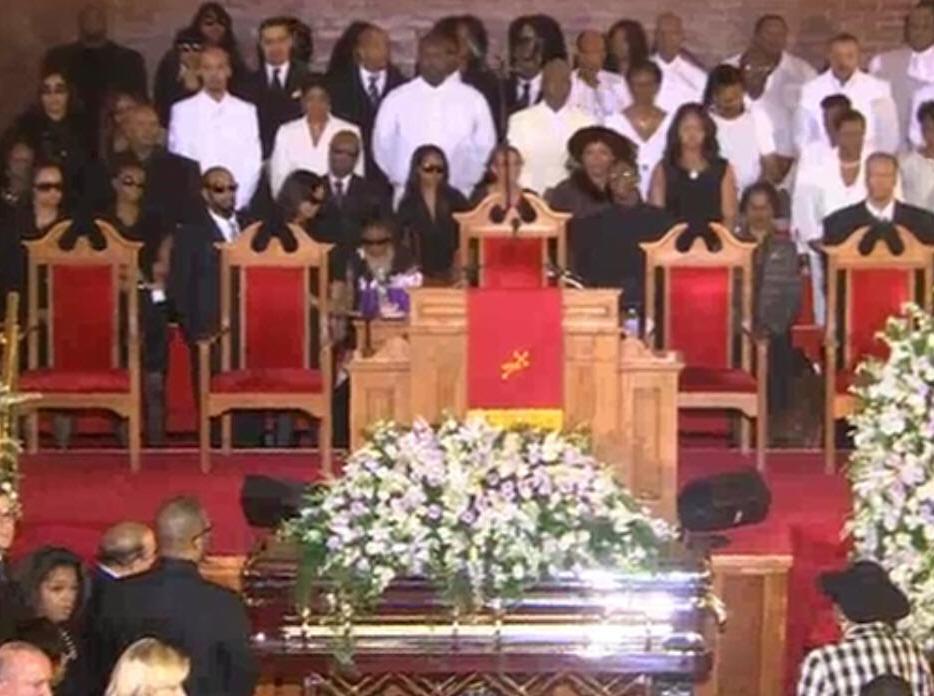 Whitney Houston Funeral Whitney Houston's Fu...