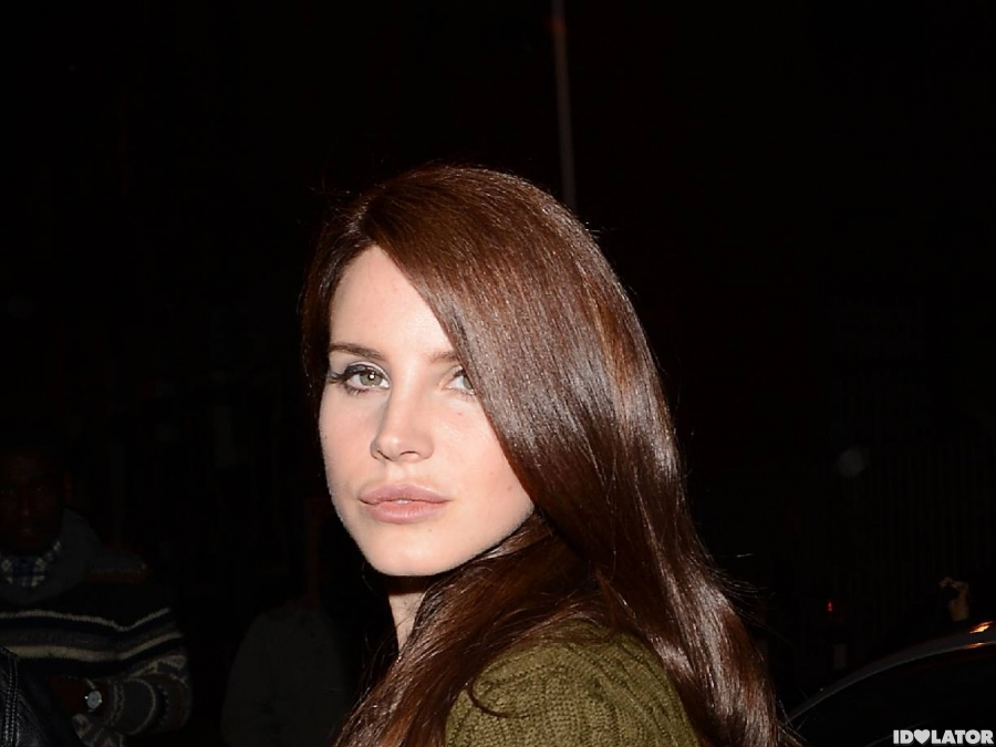 Lana Del Rey Wears Guns N' Roses Shirt